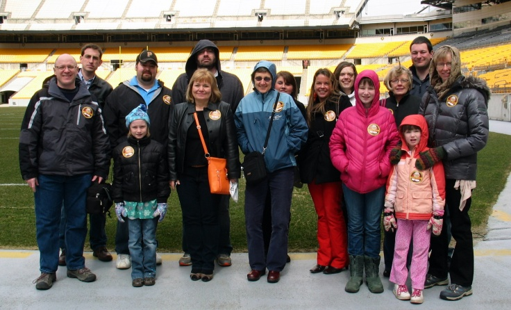 Laurelville staff at Heinz Field