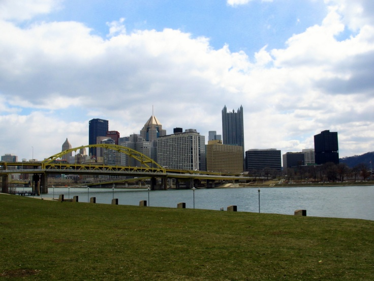 Downtown Pittsburgh from the North Shore